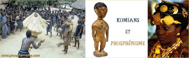 Komians and Phosphenism