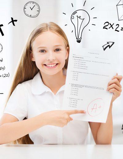 Avoir des bonnes notes à l'école