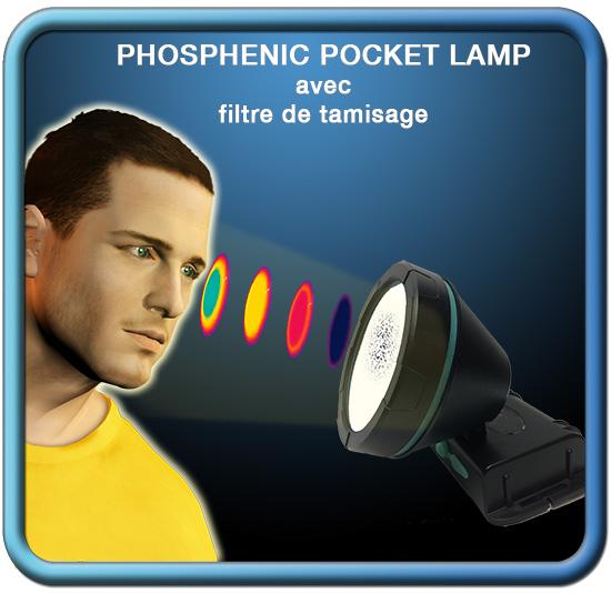 Lampe à phosphènes